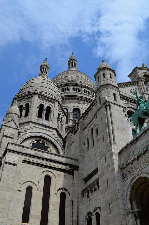 Sacre Coeur, Paris, Church, White, Sacré Coeur, France