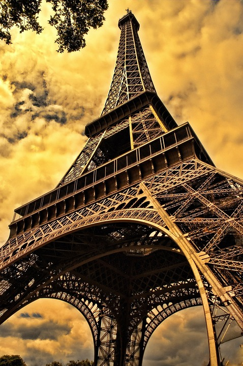 Eiffel Tower, Paris, Tower, Architecture, Tall