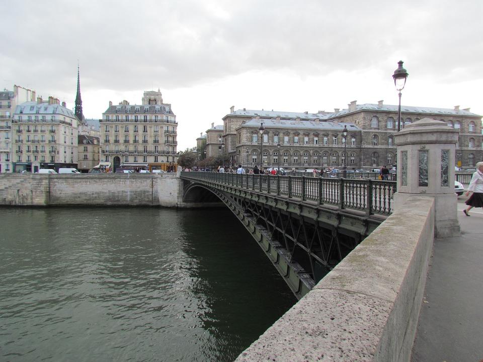 Paris, Seine River, Europe
