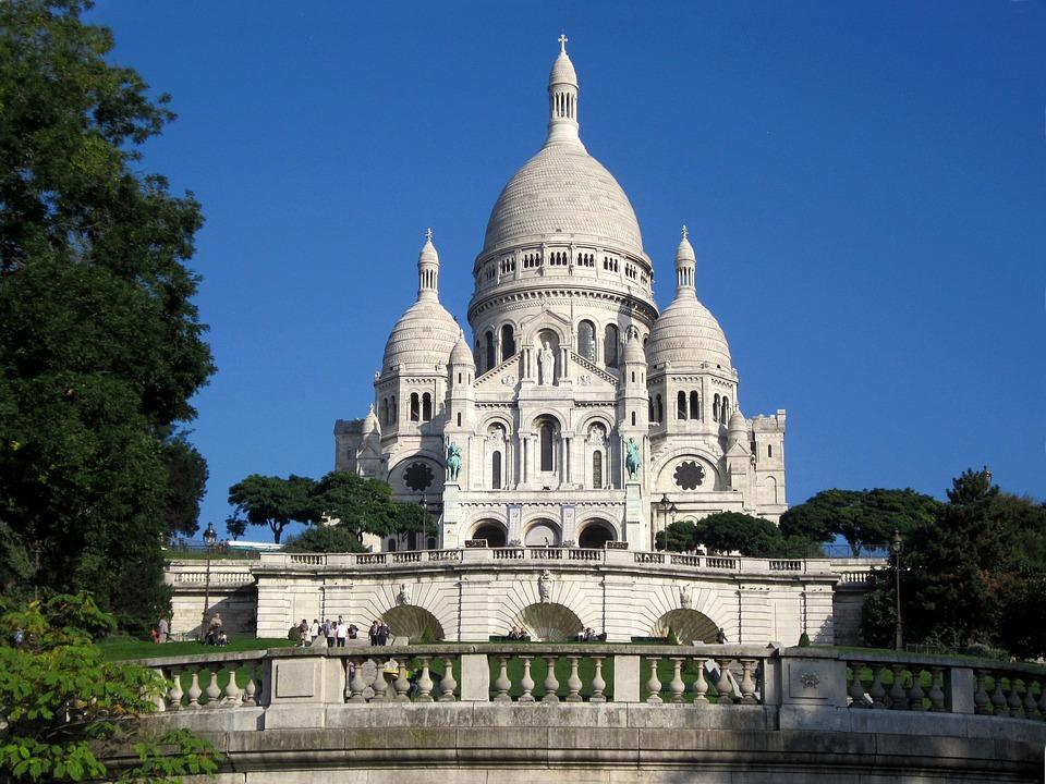 Free Photo Paris France Basilica Montmartre Sacré Coeur