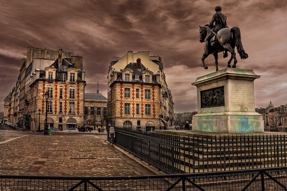 Paris, Seine, Perspective, France, Buildings, Tourism