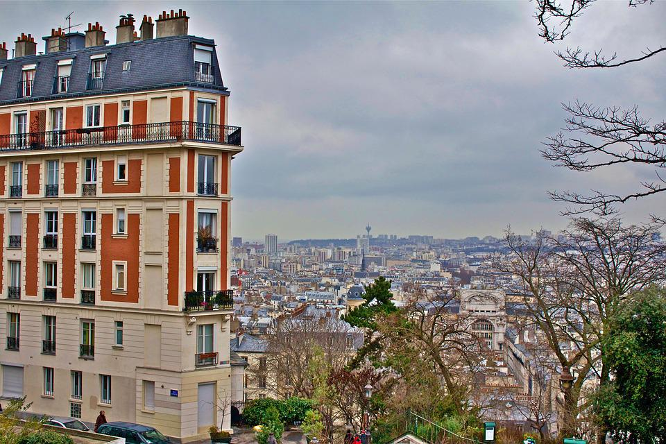 Paris, France, Monmatre, Architecture, City, Building