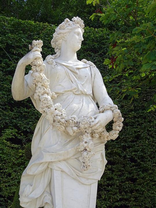 Versailles, Paris, Garden, Statue