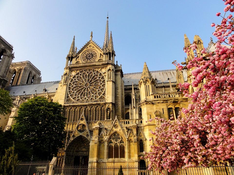 Paris, Notre Dame De Paris, House Of Worship, Building