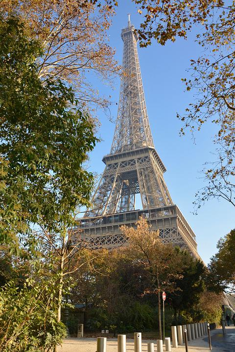 Eiffel Tower, Paris Is The Capital Of French, Monument