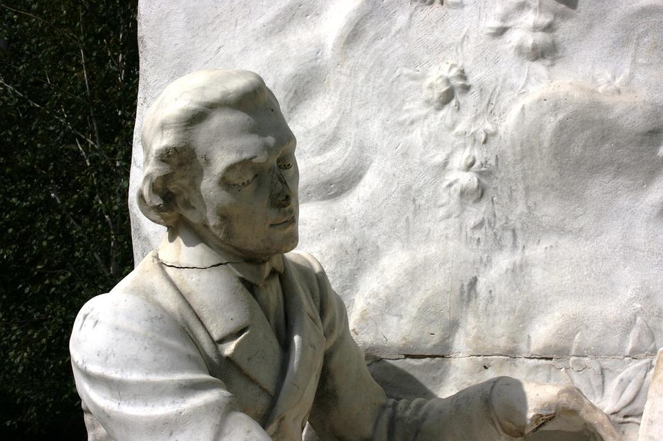Chopin, Sculpture, Monument, Parc Monceau, Paris