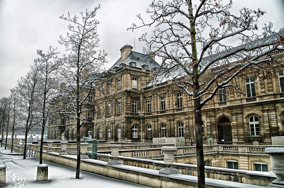 Paris, France, Palais Du Luxembourgh, Building