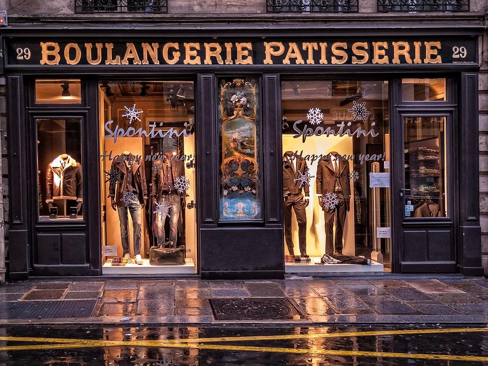 Paris, Rue Des Francs-bourgeois, Storefront, Mode