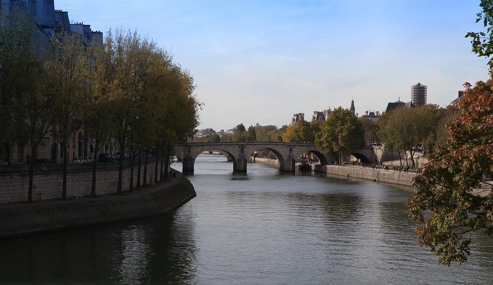 Seine, Bridge, Paris