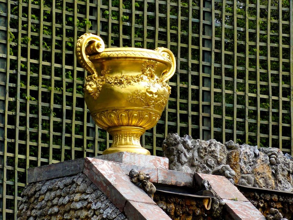 Vase, Royal, Versaille, Paris, Louis Xiv, Sun King