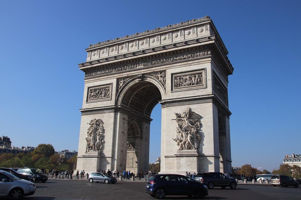 Paris, City, Tourism, Capital, Triumphal Arch