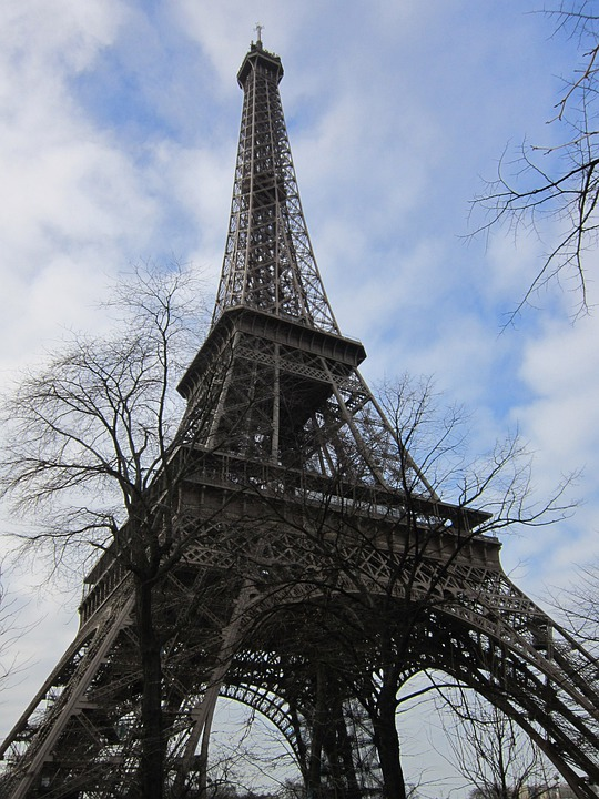 Eiffel Tower, Paris, Tower, France, Structure