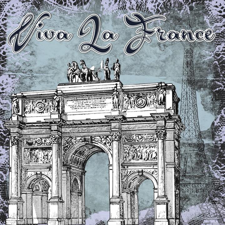 France, Viva La France, In Honor Of, Paris, Vintage
