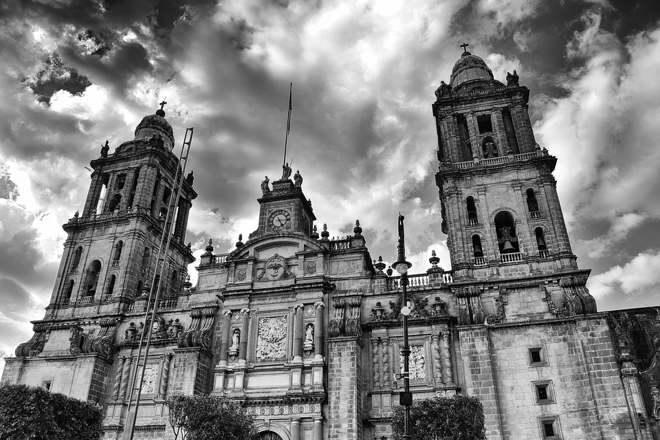 Architecture, Churches, Cathedral, Parish, Mexican