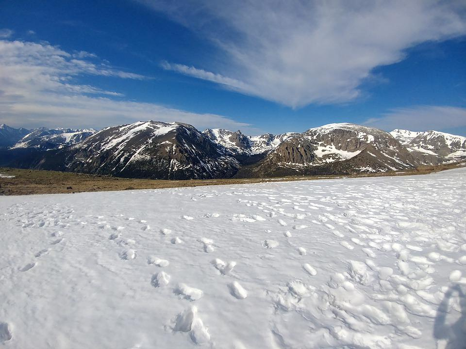 Alpine, Rocky, Mountain, Peak, Hiking, National, Park