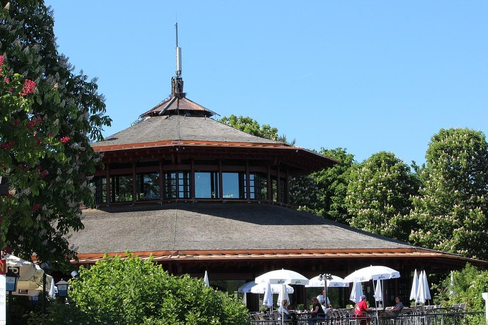 Aue, Bonn, The Park Restaurant, Plant, Green, Park