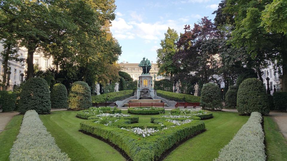 Petit Sablon, Park, Sablon, Gardens, Belgium, Brussels