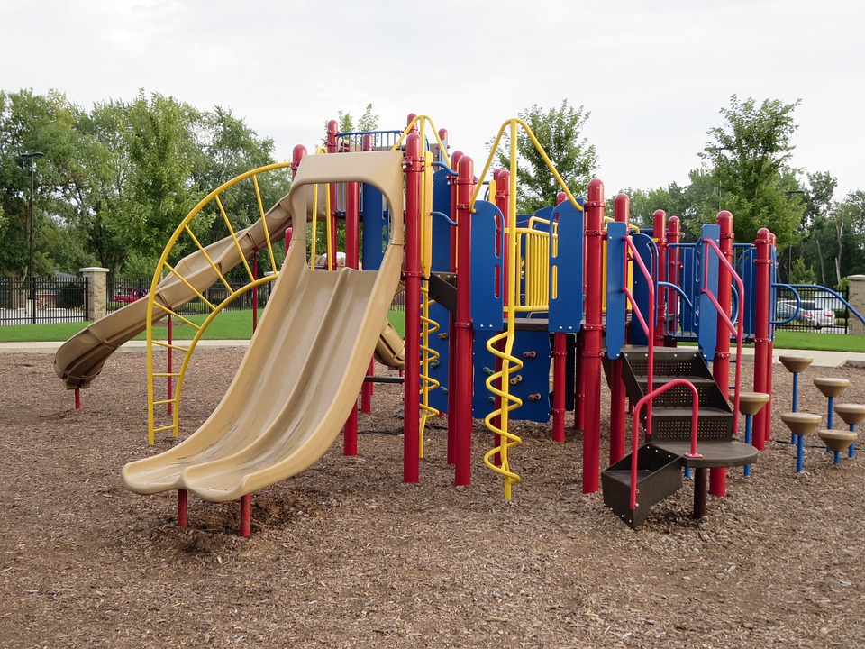 Playground, Public, Park, Play, Outdoor, Childhood
