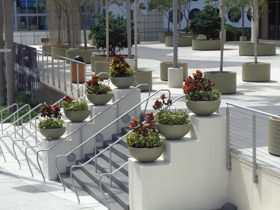 Miami, Coconut Grove, Florida, Architecture, Park