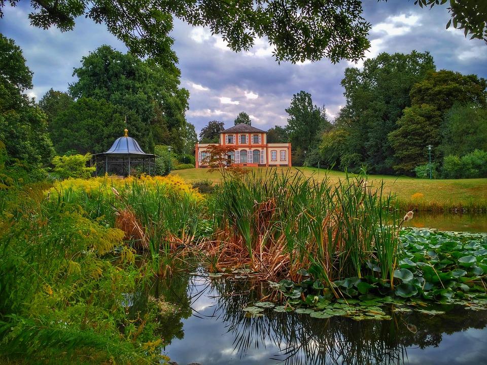 Darmstadt, Hesse, Germany, Bessungen, Garden, Park