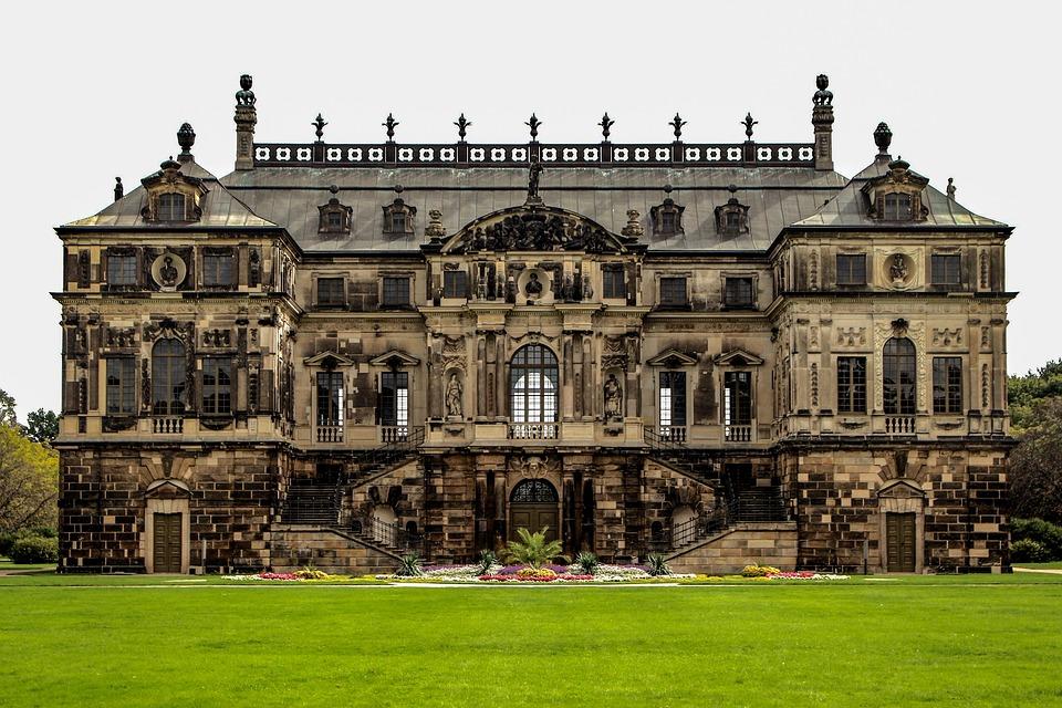 Historically, Parlais, Park, Museum, Dresden