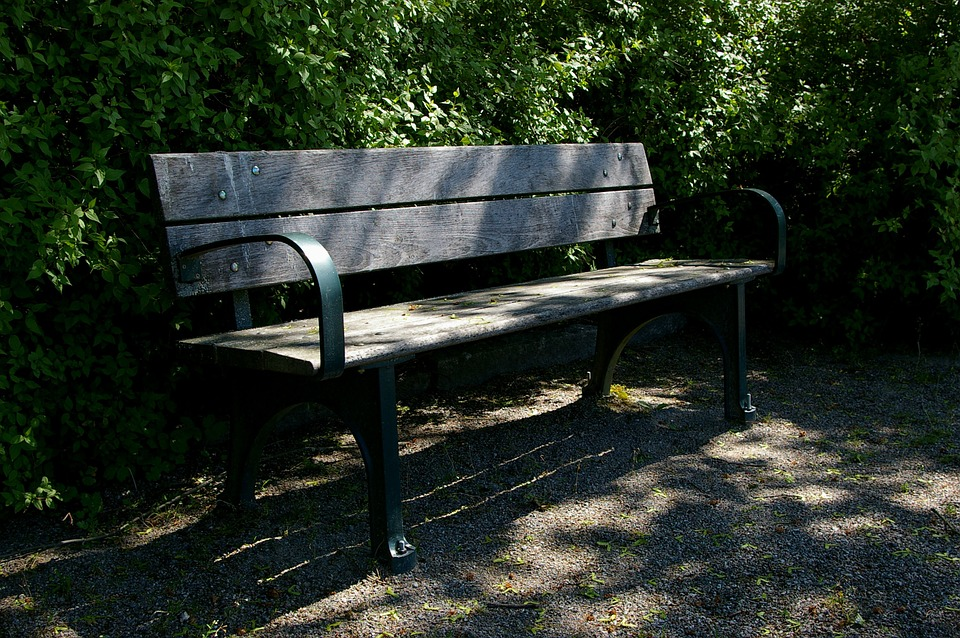 Bench, Meeting Place, Seat, Shadow, Park, Garden