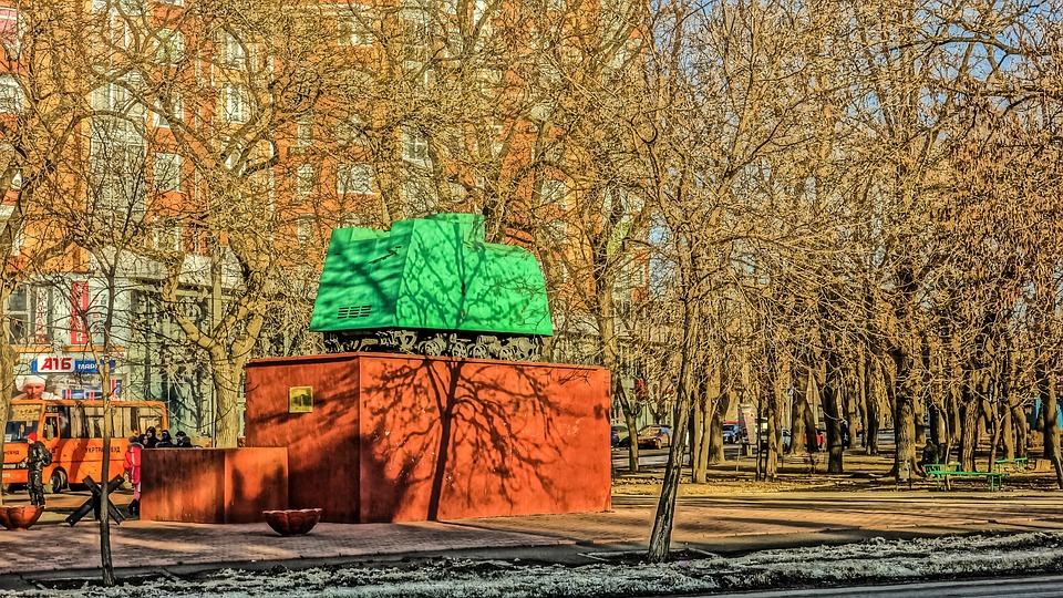 Odessa, Monument, Fright, Park