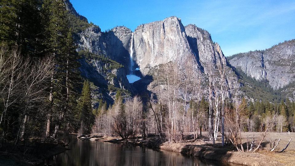 Yosemite, California, National, Park, Nature, Mountain