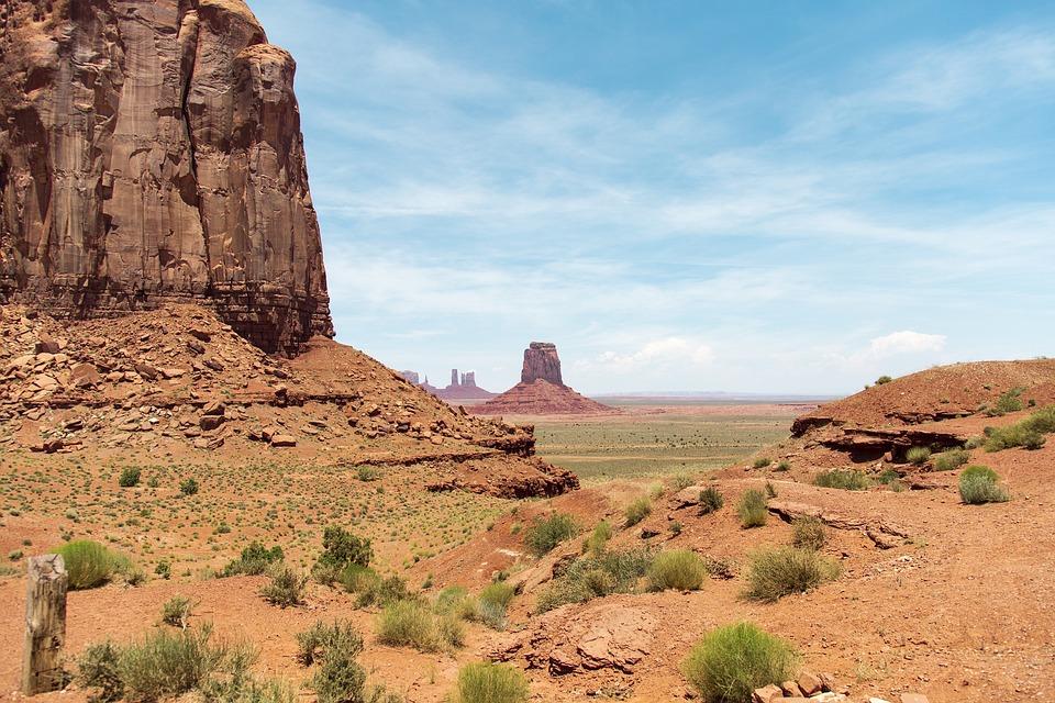 Monument Valley, Park, National, Desert, Nature