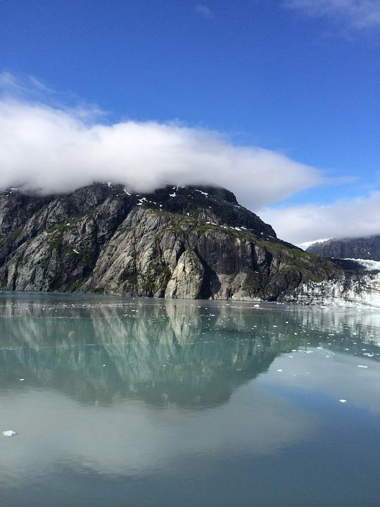 Alaska, Glacier, Sky, Ice, Landscape, Park, Nature