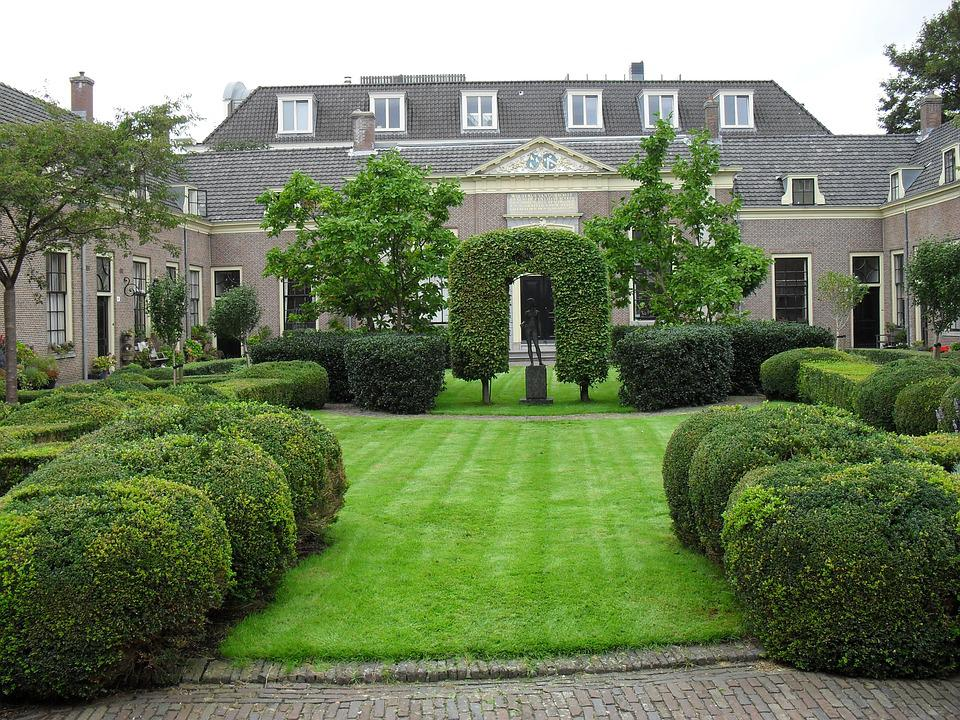 Architecture, Netherlands, Park, Building, Holland