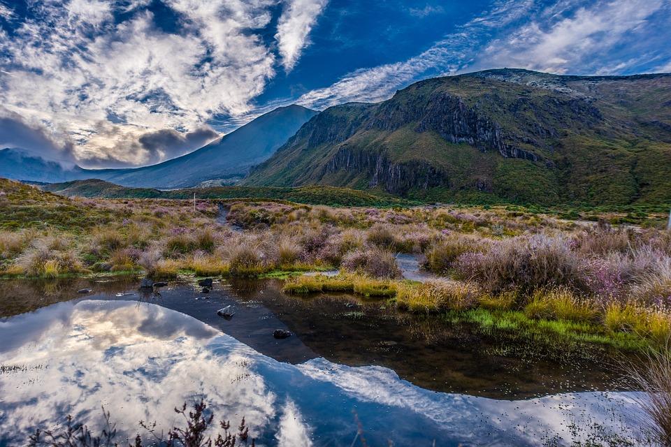 Mount Doom, New Zealand, Tongariro, Ngauruhoe, Park