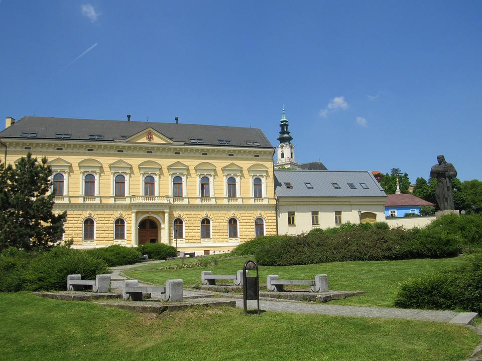 Nitrify, Slovakia, Building, Palace, Park