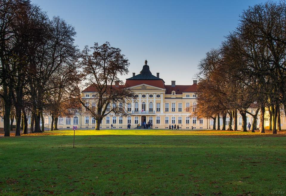 Park, The Palace, Poznan, Rogalin, Monument, Autumn