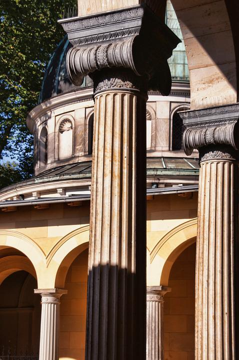 Columnar, Park Sanssouci, Church Of Peace, Potsdam