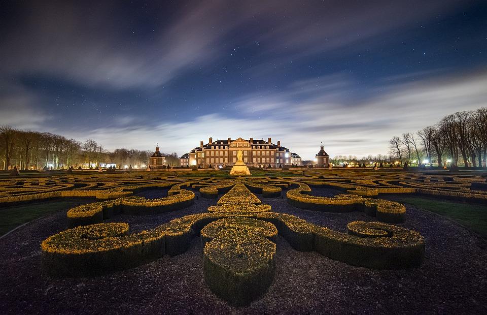 Castle, Schlossgarten, Architecture, Park, Historically