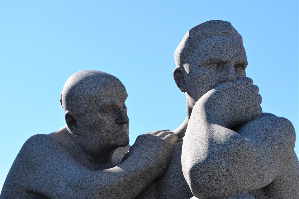 Statues, Sculpture, Oslo, Vigeland, Park, Norway