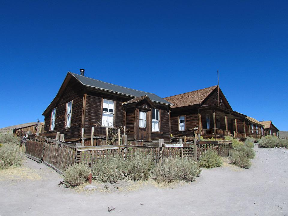 Bodie, California, Town, Park, Ghost, Abandoned, Old