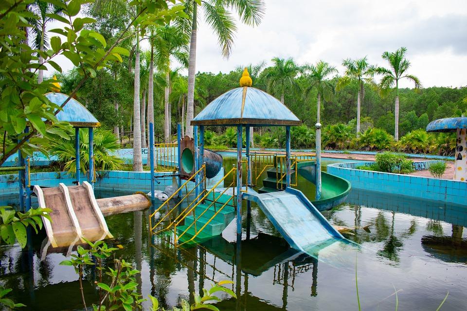 Pool, Park, Water, Vietnam, Hoi An, Hue, Temple, Dragon