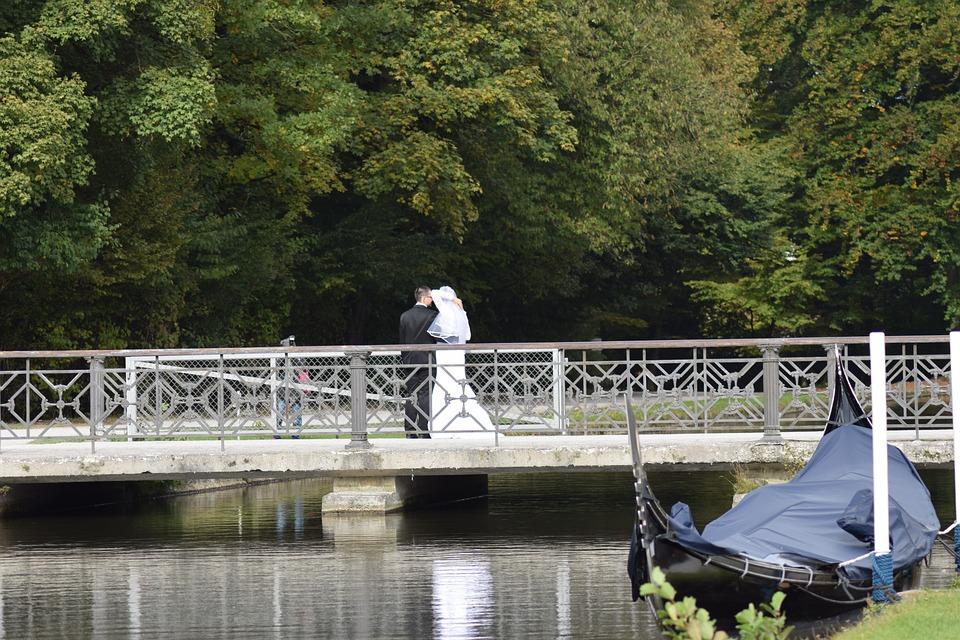 Munich, Castle, Nymphenburg, Park, Wedding