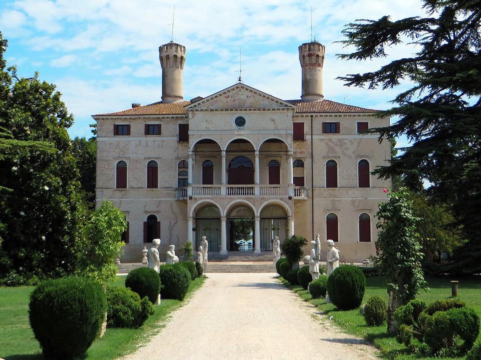 Italy, Veneto, Roncade, Castle, Wine, Crus, Park