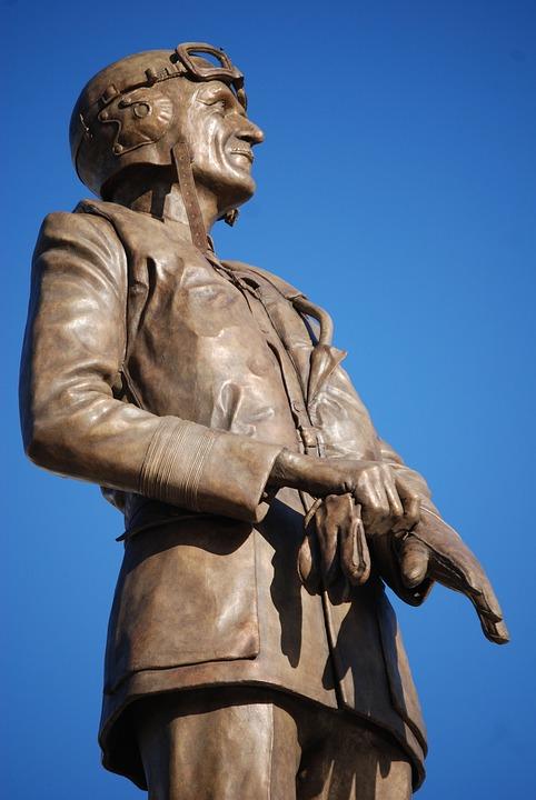 Monument, Parks, Keith, Aviator, London