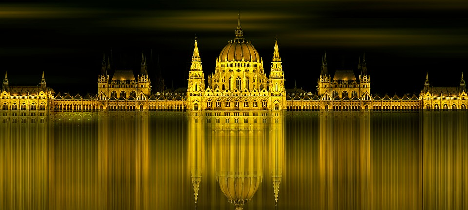 Architecture, Building, City, Budapest, Parliament