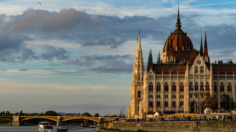 Budapest, Parliament, Hungary, Architecture, Danube