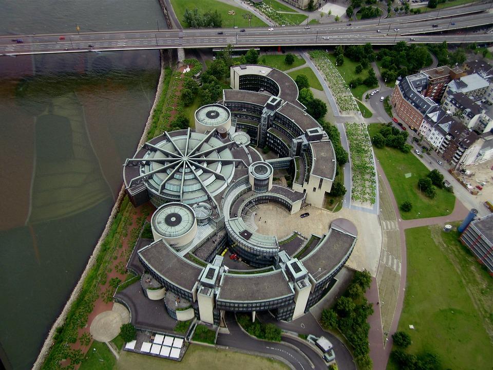 Düsseldorf, Landtag, Parliament, Building