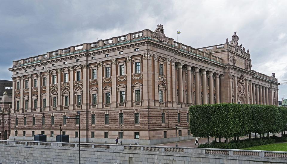 Stockholm, The Riksdag, Parliament