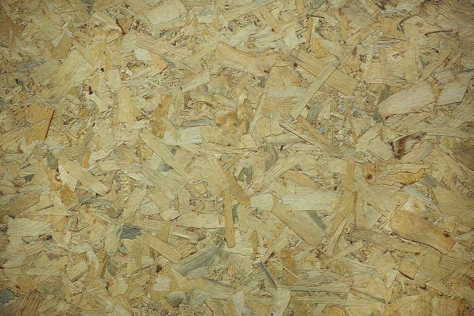 Wood-fibre Boards, Wood, Parquet, Macro, Detail, Old