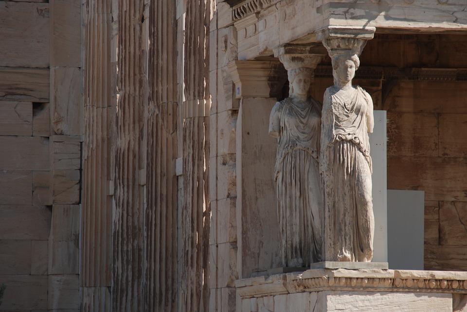 Free photo parthenon greece sculpture column athens