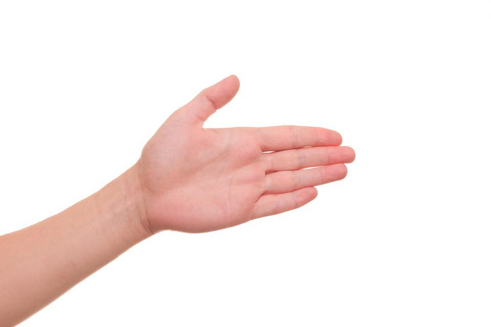 Hand, Palm, Guide, Guiding, Along, Votes, Participate