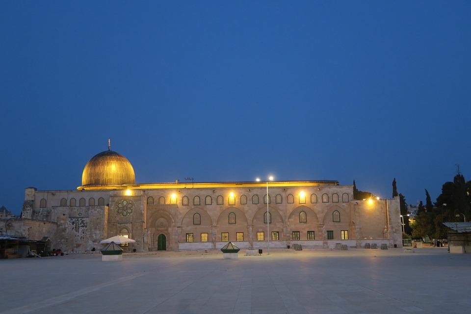 Architecture, Travel, City, Sky, Jerusalem, Parts, Cami